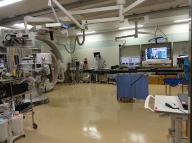 第1手術室(ハイブリッド手術室)